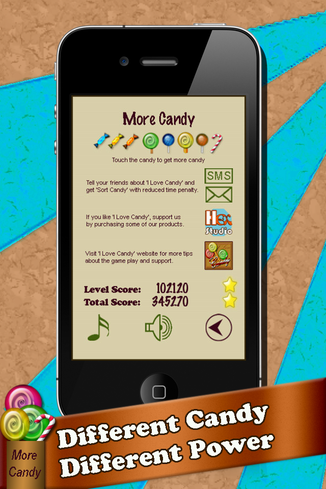 Screenshot I Love Candy – Free